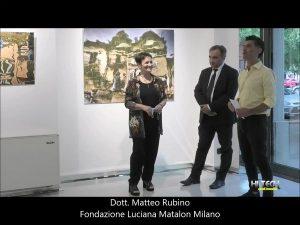 Mostra di Enza De Paolis alla Fondazione Luciana Matalon