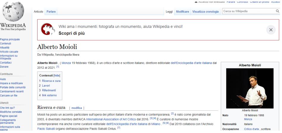 Alberto Moioli wikipedia en